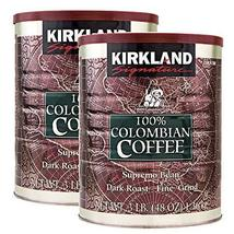 2-PACK Kirkland Signature 100% Colombian Coffee, Dark Roast, 3 lbs FREE SHIPPING - $42.99