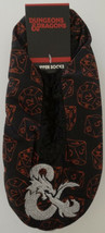 Dungeons & Dragons Ampersand Logo Adult Cozy Slippers Socks Nwt - $16.00