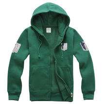 Attack on Titan Hoodie Jacket Cosplay Costume - $49.99