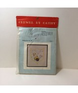 Bowling Crest Crewel Embroidery Kit Crewel by Cathy  - $9.74