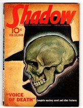 Shadow Pulp Magazine 1940 Feb 15 Street And SMITH- - $242.50