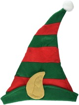 Jacobson Hat Company Women's Elf Hat with Ears One Size Red/Green - $10.44