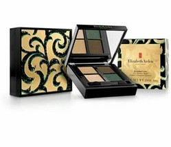 Elizabeth Arden Beautiful Color Eyeshadow Quad Golden Opulence 01 SEALED Box - $20.68