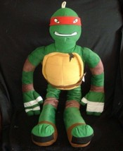"28"" BIG TEENAGE MUTANT NINJA TURTLES 2014 RAPHAEL RED STUFFED ANIMAL TOY... - $22.21"
