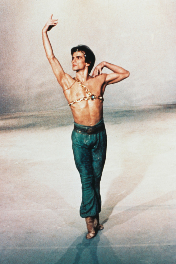 Primary image for Rudolf Nureyev Barechested dancing 18x24 Poster