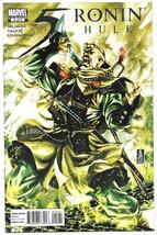 5 Ronin #2 Hulk NM+ 2011 Marvel Comics Mark Brooks Variant Key 1st App Monk - $4.94