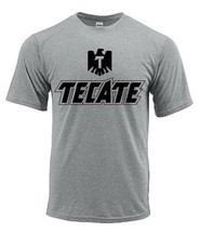 Tecate Dri Fit graphic T-shirt moisture wicking beer beach sun shirt SPF 50 tee image 2