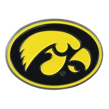Fanmats NCAA Iowa Hawkeyes Diecast 3D Color Emblem Car Truck RV 2-4 Day Delivery - $10.64