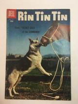 Rin Tin Tin #15 Dell comics Silver Age 1956 Copy B - $14.20