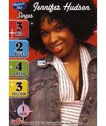 American Idol - Season 3 CCG Jennifer Hudson Single Card NM - $2.00