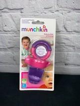 Munchkin Fresh Food Feeder Raw Fresh Teether Purple and pink Baby Toddler - $9.99