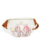 Loungefly Disney Princess Chibi Fanny Pack Ariel Cinderella Mulan Snow W... - $59.99
