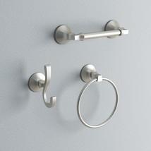 Bath Hardware Kit 3-Piece Towel Ring Robe Hook Toilet Paper Holder - $70.65