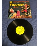 "Vintage Peter Pan Record Album ""Pinocchio"" Original 33 1/3 RPM Plastic - $8.90"