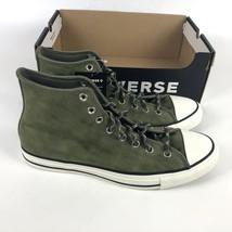 Converse Ctas Hi Nubuck Boot Mens Size 9.5 Egret Green 169730C - $78.21