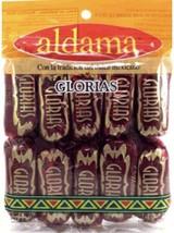 Glorias Aldama milk candy w/ pecans dulce de leche con nuez Mexican 10 pcs - $15.00