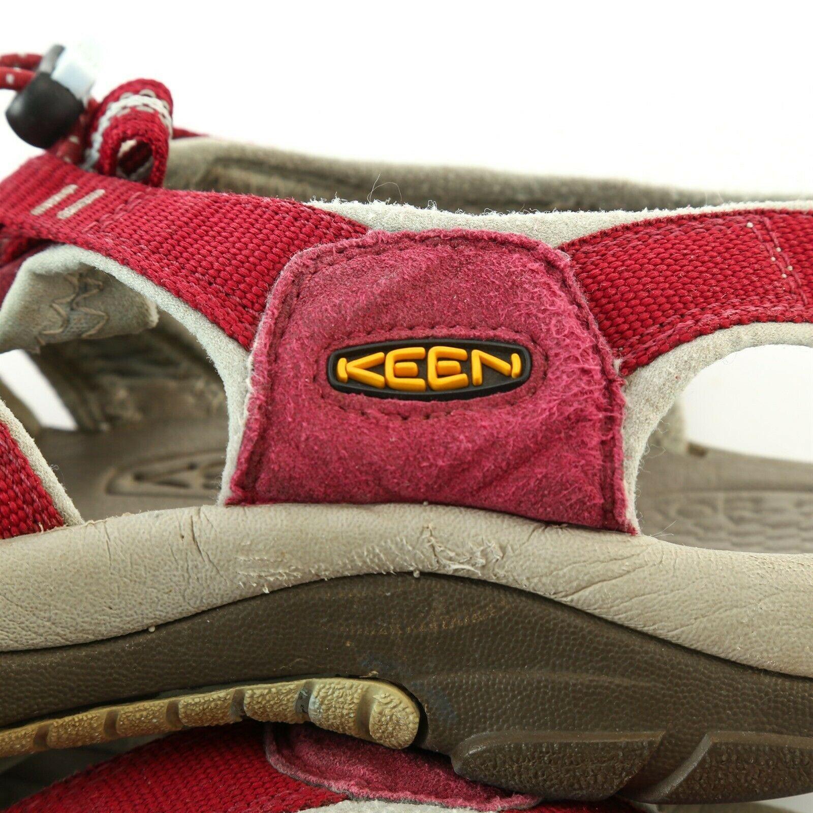 Keen Hiking Sport Sandals Trail Outdoor Shoes Waterproof Womens 9 Dark Mauve