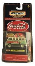 1967 Coca Cola Brand VW Transporter Matchbox Toy - Still In Case  - $10.00