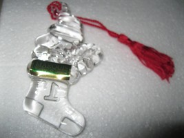 Waterford Crystal Marquis WOODSTOCK Ornament BABY'S 1st CHRISTMAS 2000 peanuts image 2
