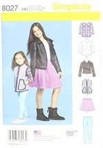 Simplicity Patterns Child's and Girls' Sportswear Pattern Size: HH (3-4-5-6), 80 - $13.48