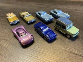 Disney Pixar Cars Lot Of 7 Cars - $29.39