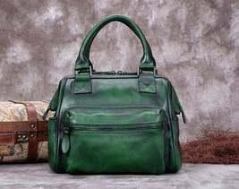Sale, Fashion Full Grain Leather Messenger Bag, Shoulder Bag, Satchel Bag, Leath image 5