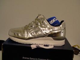 Asics running shoes Gel-Lyte III silver size11 us men - $89.05