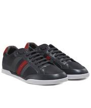 Hugo Boss Men's Premium Sport Profile Sneaker Shoes Shuttle Tenn Tech Dark Grey