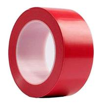 Warning Safety Stripe Tape Wear Heavy Tape (RED)