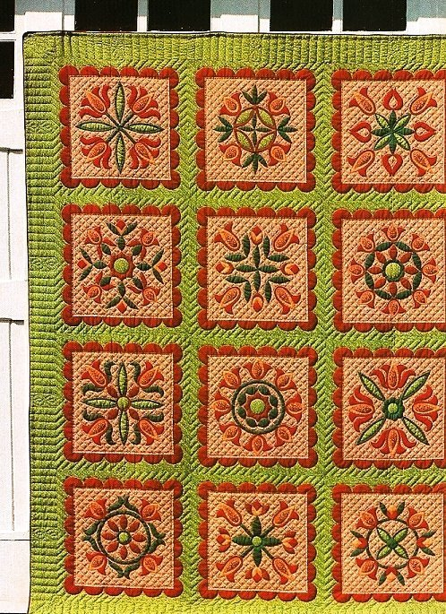 Tulip Quilt Pattern 3 Listings