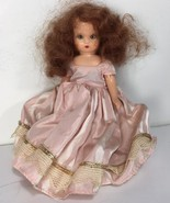 "6"" Antique Vintage Nancy Ann Storybook Doll w/ Sleepy Eyes - Red Hair Bl... - $39.59"