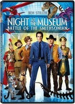 Night at the Museum- Battle of the Smithsonian DVD - $5.99