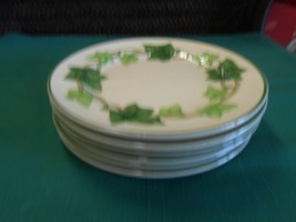 "Great FRANCISCAN ""Ivy"" Earthware..... Set of 6 BREAD-SALAD-DESSERT Plate... - $34.24"