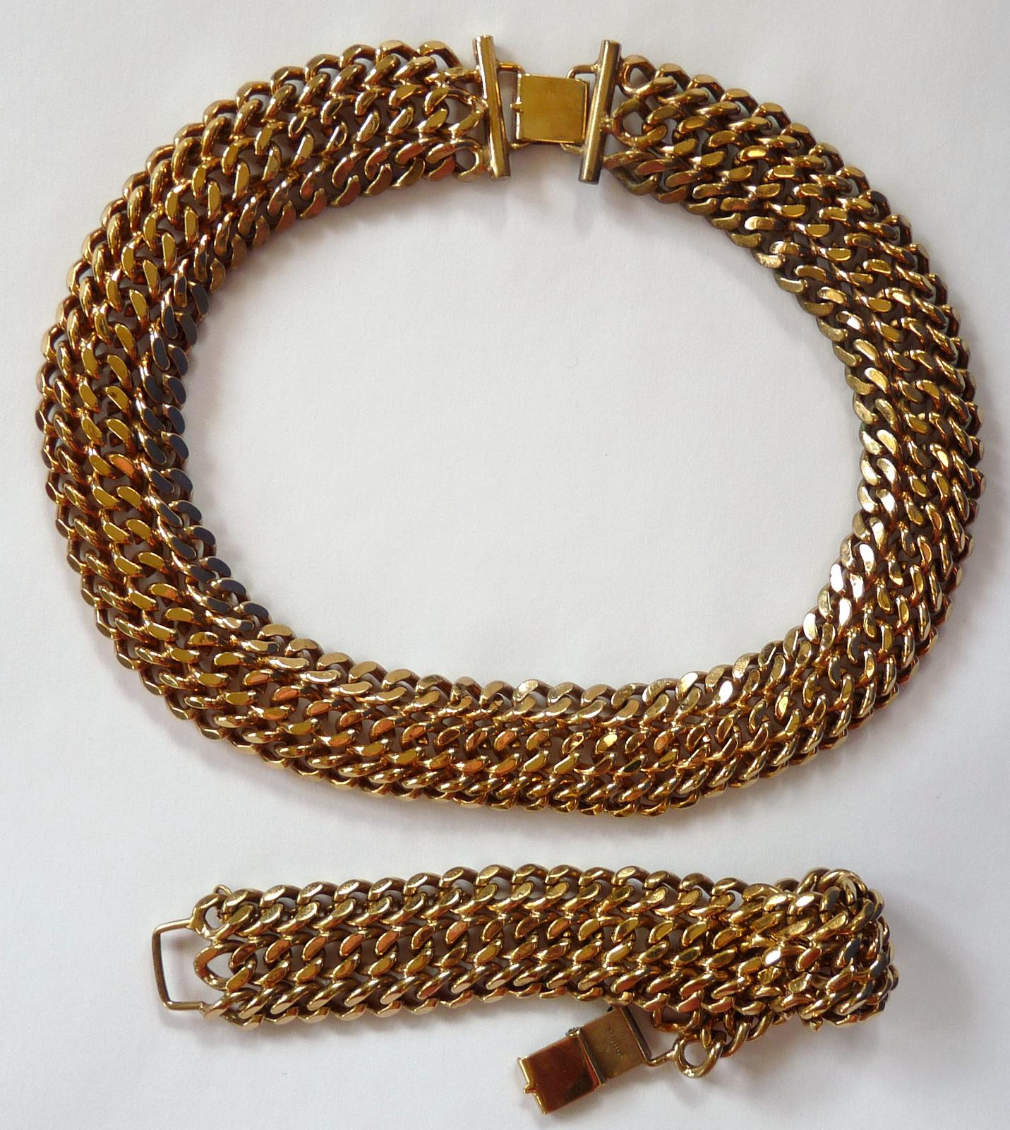 Goldchockerset
