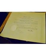 RICHARD NIXON Signed Presidential Appointment Document - RARE - $1,435.50