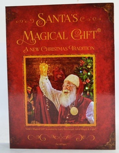 Santa's Magical Gift set 2016 Larry Hersberger audio wish book magic box