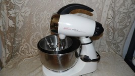 VINTAGE SUNBEAM MIXMASTER HERITAGE SERIES 2350 W/2 STAINLESS BOWLS BEATE... - $64.30