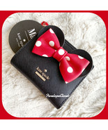 NWT KATE SPADE LEATHER MINNIE MOUSE KSNY X MINNIE MOUSE ADALYN WALLET - $98.88