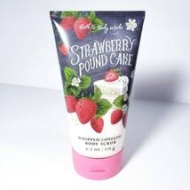 Bath & Body Works Strawberry Pound Cake Whipped Confetti Body Scrub wth ... - $23.16
