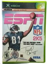 Terrell Owens ESPN NFL 2K5 Microsoft Xbox  Online Enabled Sega - $12.16