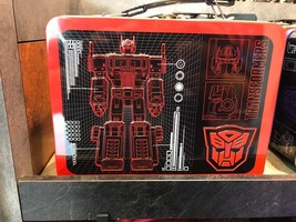 Universal Studios Exclusive Transformers Autobots Decepticons Tin Lunch ... - $38.78