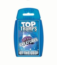 Winning Moves Top Trumps Creatures of the Deep Card Game - $19.99