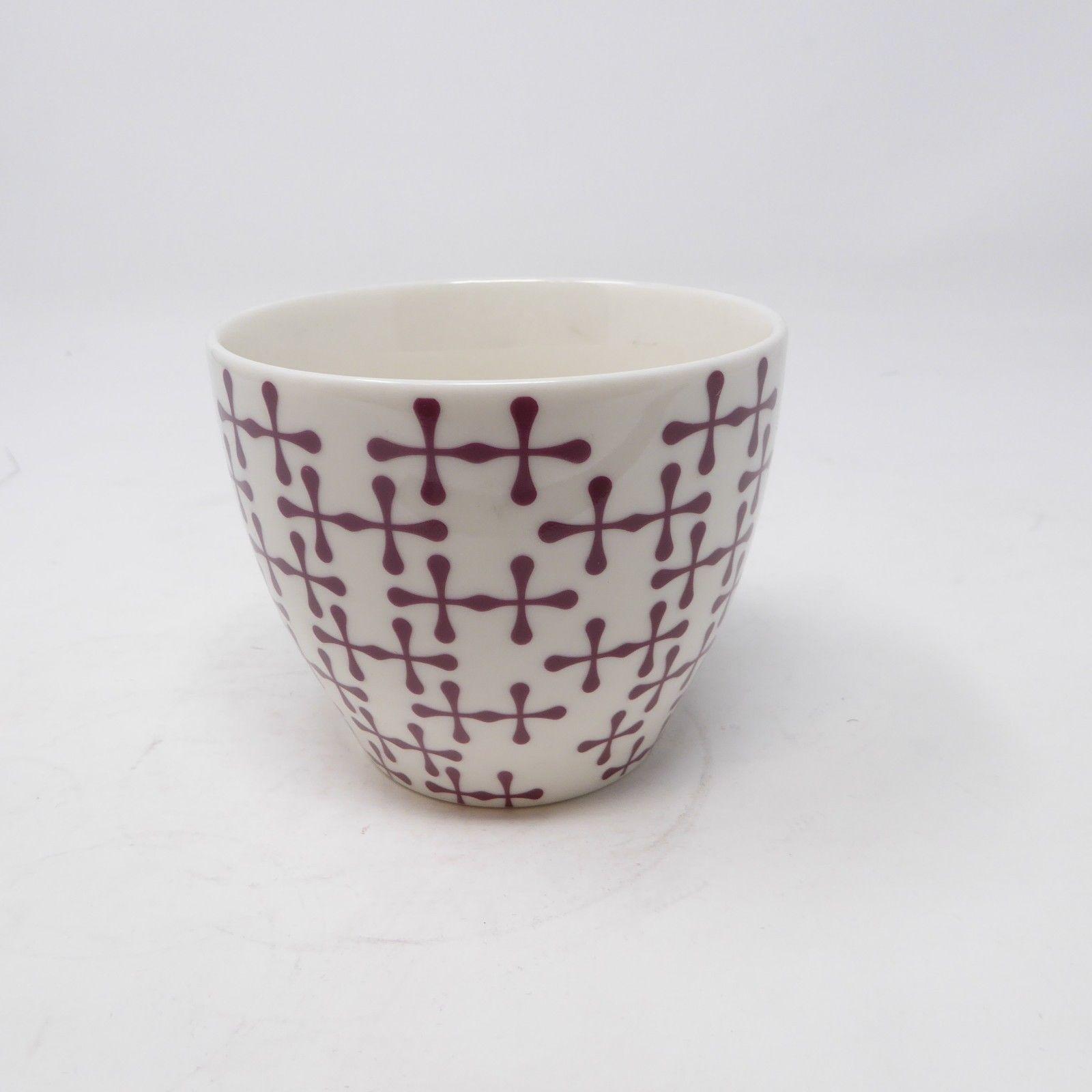 5f996e6eb21 Starbucks Mug New Bone China Nouvelle Porcelaine 2010 Cross of Red & White  Base