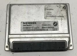 03 2004 BMW 325i A/T 2.5 ECM ECU Engine Computer | 7530211 - $34.02