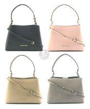 Michael Kors Sofia Portia Large East West Leather Chain Satchel Handbag Bag - $102.99