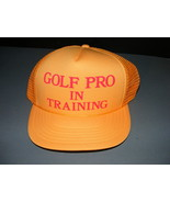 Golf Pro in Training Foam Mesh Hat - $18.00