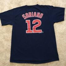 Majestic Chicago Cubs Alfonso Soriano #12 MLB Baseball T-Shirt Youth XL Shirt - $14.95