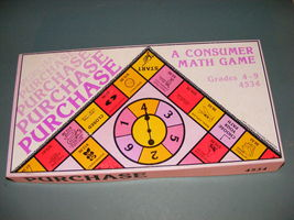 1979 Purchase A Consumer Math Game - $28.00