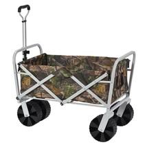 Garden Beautification Tool Eleven Cubic Foot Steel Folding Wagon in Camo... - $108.99