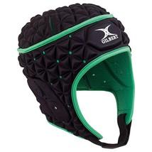 Gilbert Ignite Headguard - Black/Green (X-Large) image 1